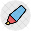 Marker Highlight Felt Icon