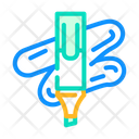 Marker Stationery Color Icon
