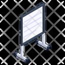 Whiteboard School Whiteboard Marker Board Icon