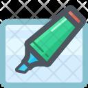 Marker Edit Highlight Icon