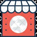 Market Map Shop Icon