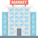 Market Stock Exchange Bank Icon