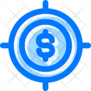 Money Profit Target Icon