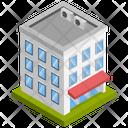 Building Company Architecture Icon