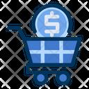 Market Money Cart Icon