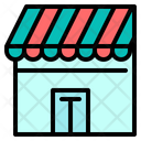 Mart Market Shopping Icon