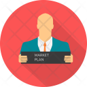 Market Plan Marketing Icon
