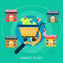 Market Place Cart Icon
