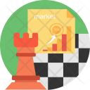 Market Strategy Shop Icon