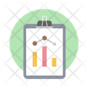 Analytics Market Analysis Analysis Report Icon