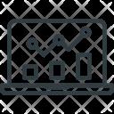 Seo Graph Diagram Icon