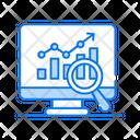 Market Analysis Statistics Analytics Icon