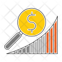 Market Research Chart Icon