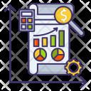 Market Analysis Report Icon