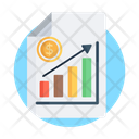 Data Chart Market Analytics Data Analytics Icon