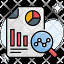 Financial Report Data Report Icon