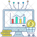 Digital Currency Market Cryptocurrency Online Currency Icon