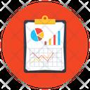 Market Data Marketing Report Data Report Icon