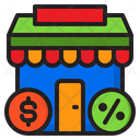 Market Store Marketing Icon
