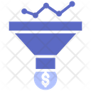 Market Funnel Money Filter Dollar Icon