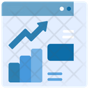 Market Growth Market Up Green Icon