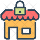 Market Lock Icon