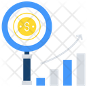 Business Research Analytics And Research Business Analysis Icon
