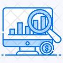 Data Research Market Analysis Market Research Icon