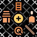 Marketresearch Marketsurvey Analytics Research Analysis Marketing Survey Icon