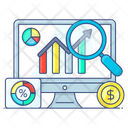 Market Analysis Market Research Business Research Icon