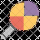 Market Research Pie Analysis Business Analysis Icon