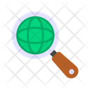 Market Reserch Global Research Global Exploration Icon