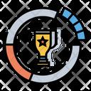 Market Share Award Reward Icon