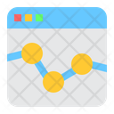 Market Trends Chart Online Graph Icon