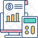 Business Market Report Icon
