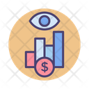 Market Watch Monitor Data Data Analysis Icon