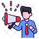Marketing Megaphone Advertising Icon