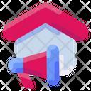 Marketing Real Estate Icon