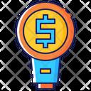 Business Marketing Idea Icon