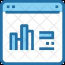 Online Makreting Graph Icon