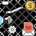Marketing Digital Bullhorn Icon