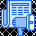 Megaphone News Newspaper Icon