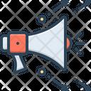 Marketing Digital Sound Icon