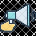 Marketing Social Media Megaphone Icon
