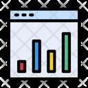 Marketing Graph Webpage Icon