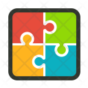 Marketing Puzzle Problem Icon