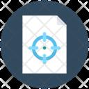 Marketing Report Crosshair Icon