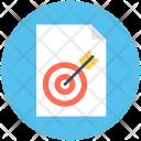 Marketing Report Target Icon