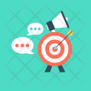 Marketing Announcement Chat Icon