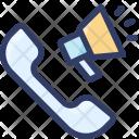 Marketing Loudspeaker Phone Icon